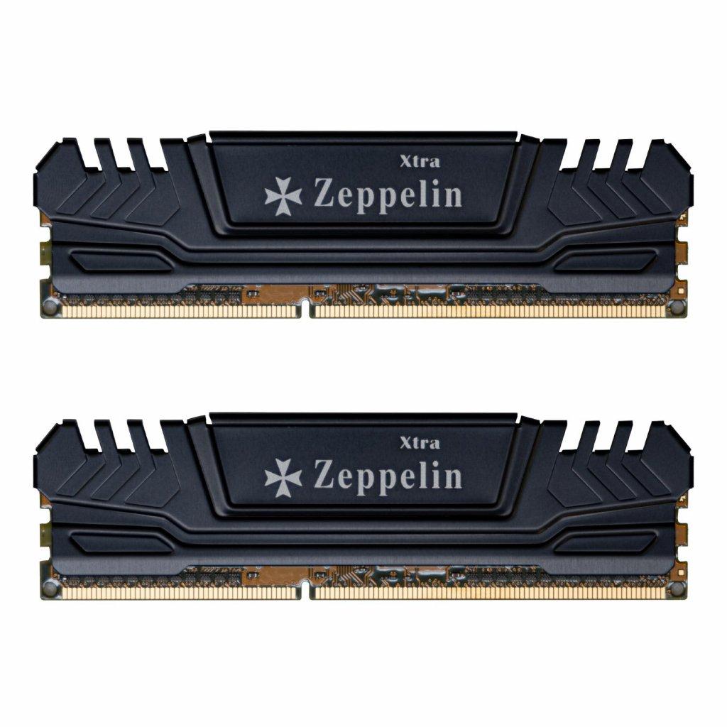 EVOLVEO Zeppelin, 2GB 800MHz DDR2 CL6, BLACK, box (2x1GB KIT) - 1G/800/XK2 EG
