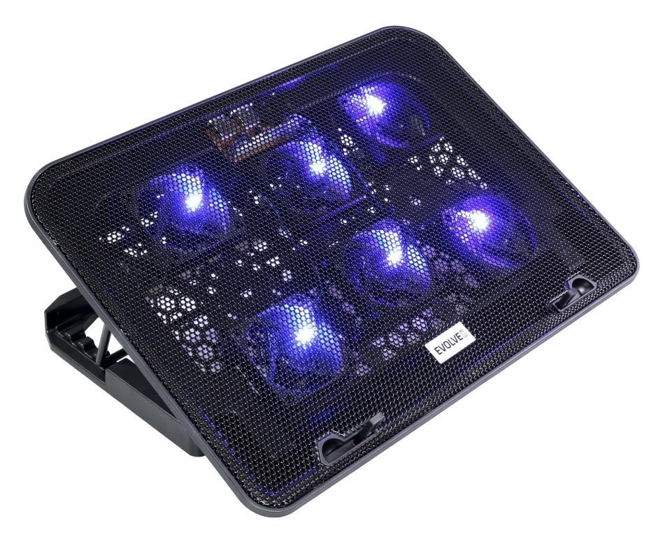 EVOLVEO Ania 3, chladicí podstavec pro notebook - ANIA3