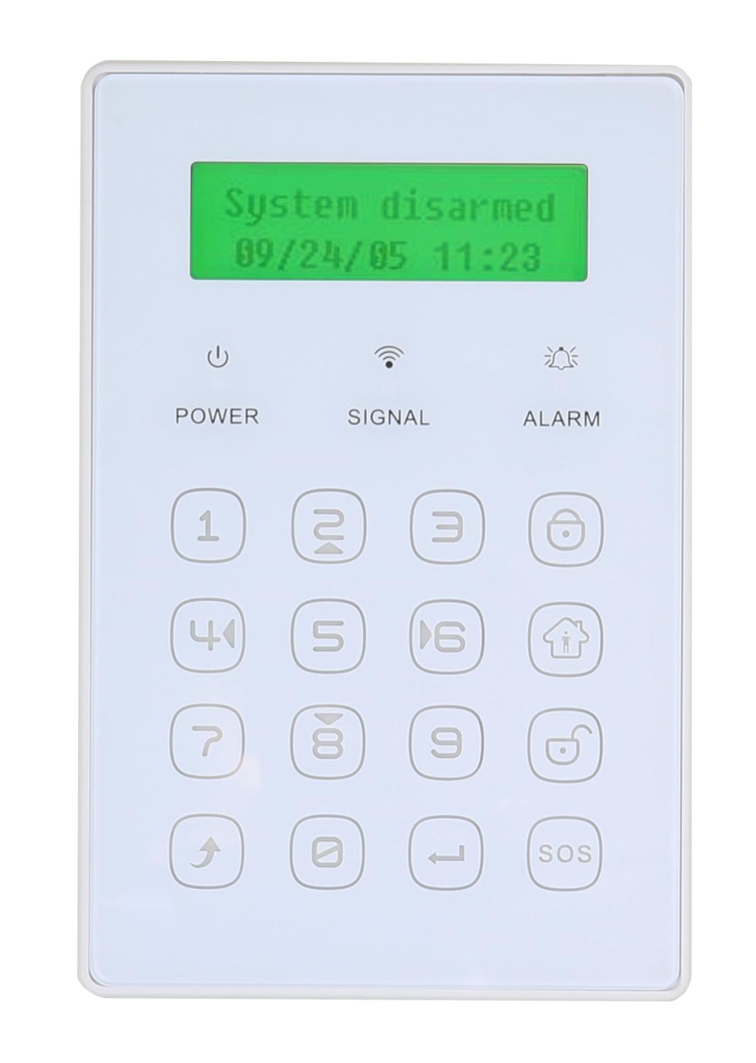 EVOLVEO bezdrátová mini klávesnice, s displejem pro Sonix/Salvarix - ACS KEY3
