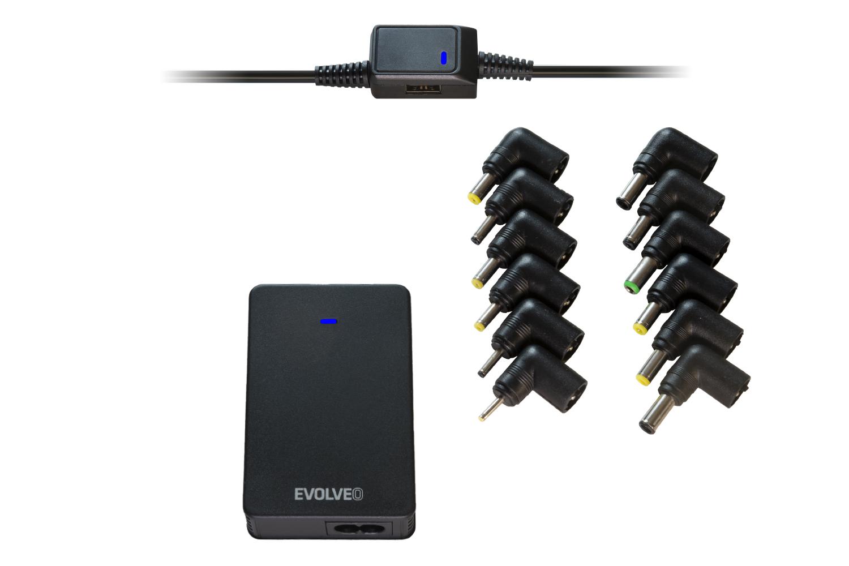 EVOLVEO ChargeeB90, 90W napájecí zdroj pro notebooky - Chargee B90