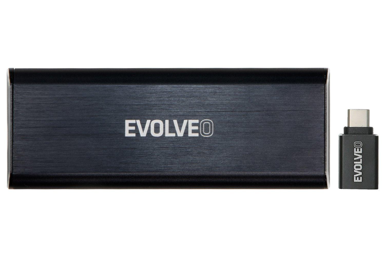 EVOLVEO Tiny N1, 10Gb/s, NVME externí rámeček, USB A 3.1 - HDEtinyn1