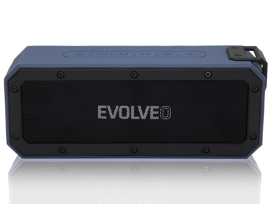 EVOLVEO Armor O6, 40W, IPX7, outdoorový Bluetooth reproduktor, modro-černý - ARMO6