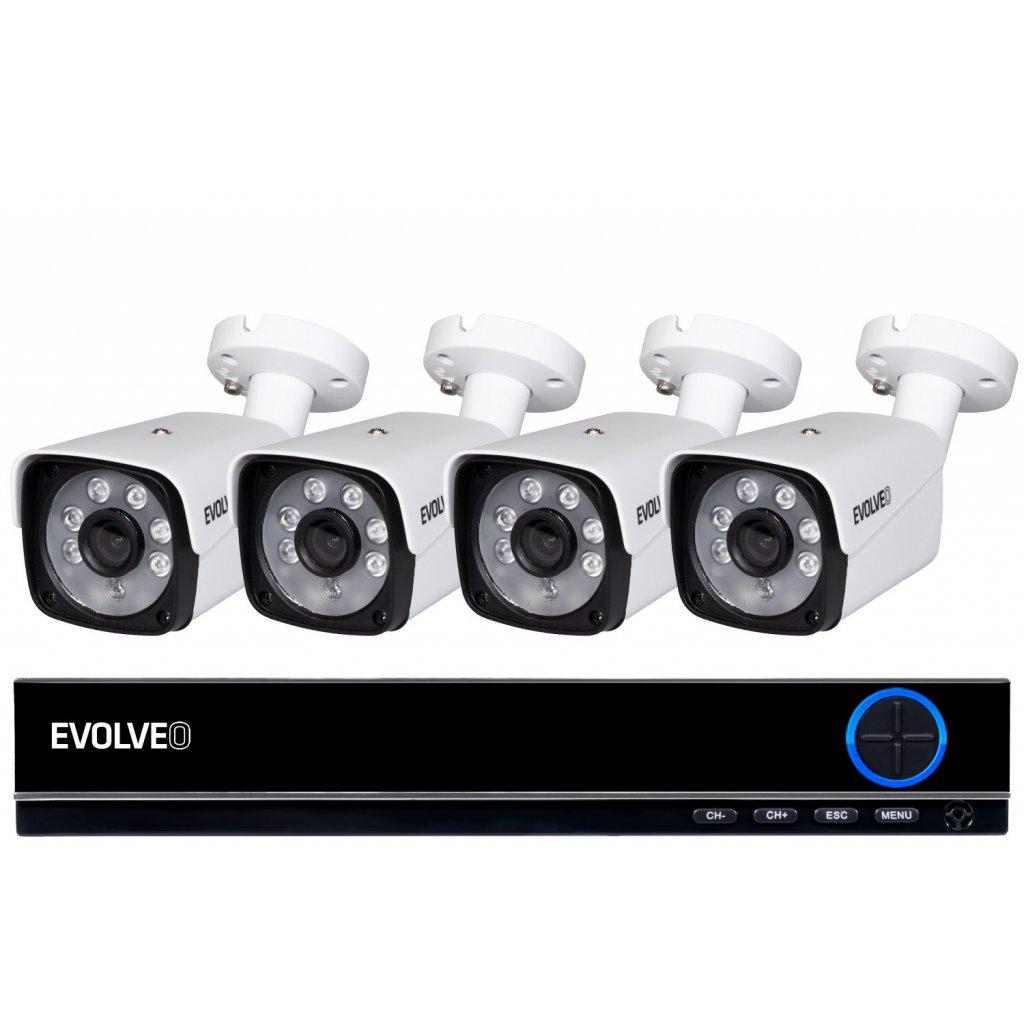 EVOLVEO Detective DV4, DVR kamerový systém - DETECTIVE DV4