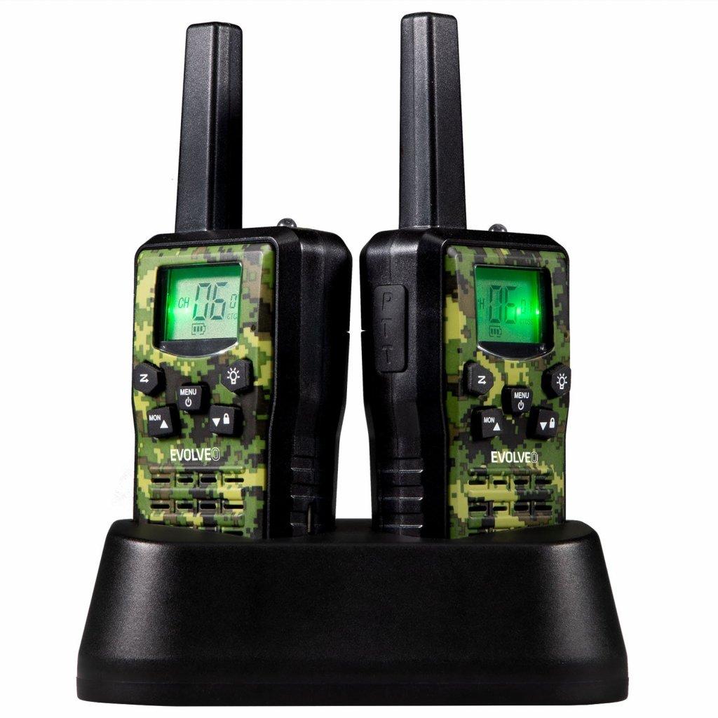 EVOLVEO FreeTalk 2W, PMR vysílačka s výkonem 0,5 a 2W - FT-2W