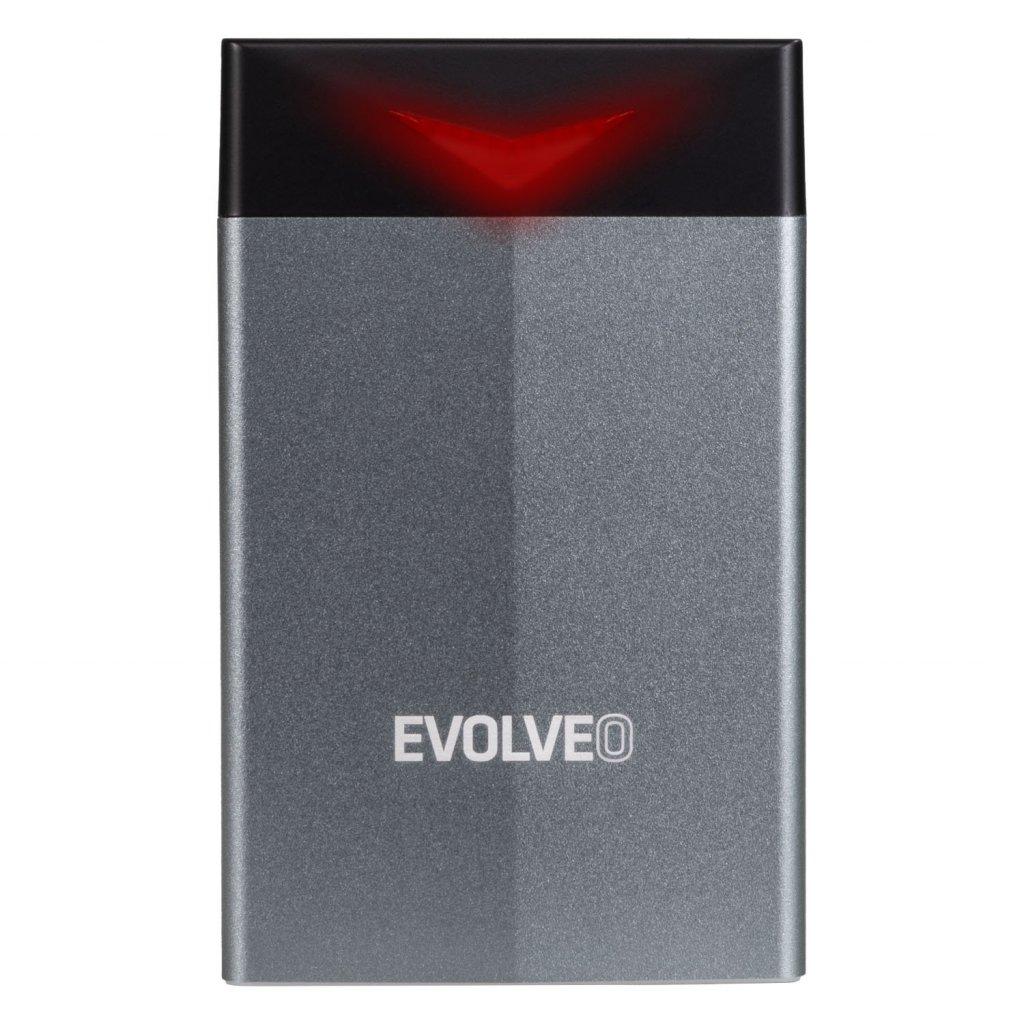 EVOLVEO 2.5'' Tiny G2, 10Gb/s, externí rámeček na HDD, USB A 3.1 + redukce USB A/USB C - TINYG2