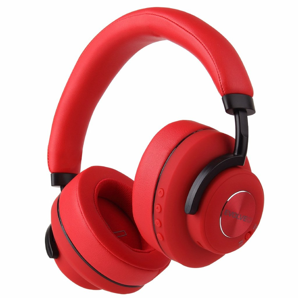 EVOLVEO SupremeSound 4ANC, bezdrátová sluchátka s ANC červená - SD-4ANC-RD