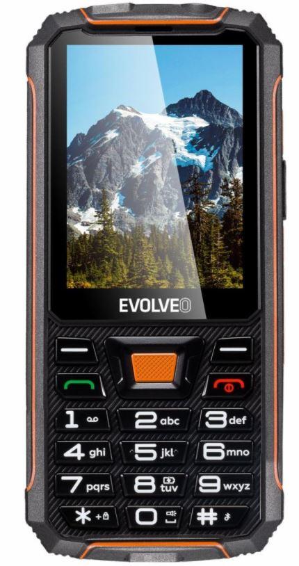 EVOLVEO StrongPhone Z5, vodotěsný odolný telefon