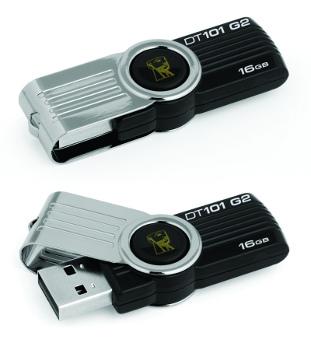 16GB Kingston USB DataTraveler 101 Gen 2 černý
