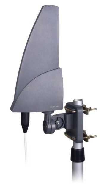 EVOLVEO Shark 35dB, aktivní venkovní anténa DVB-T/T2 - SHARK01