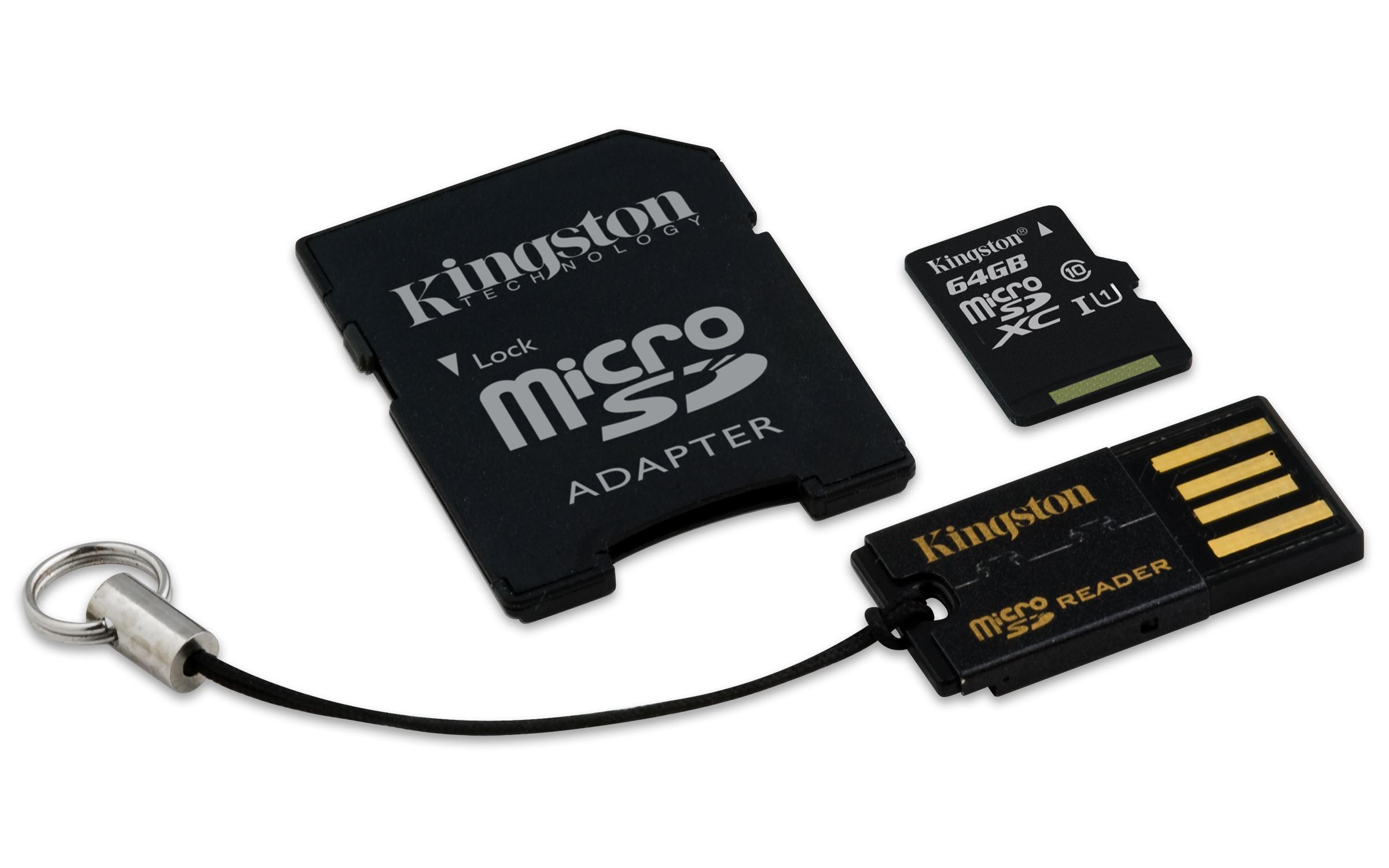 64GB Mobility Kit G2 Kingston class 10