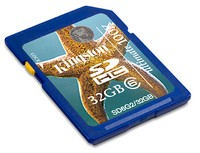 8GB Secure Digital SDHC Kingston G2- class 6
