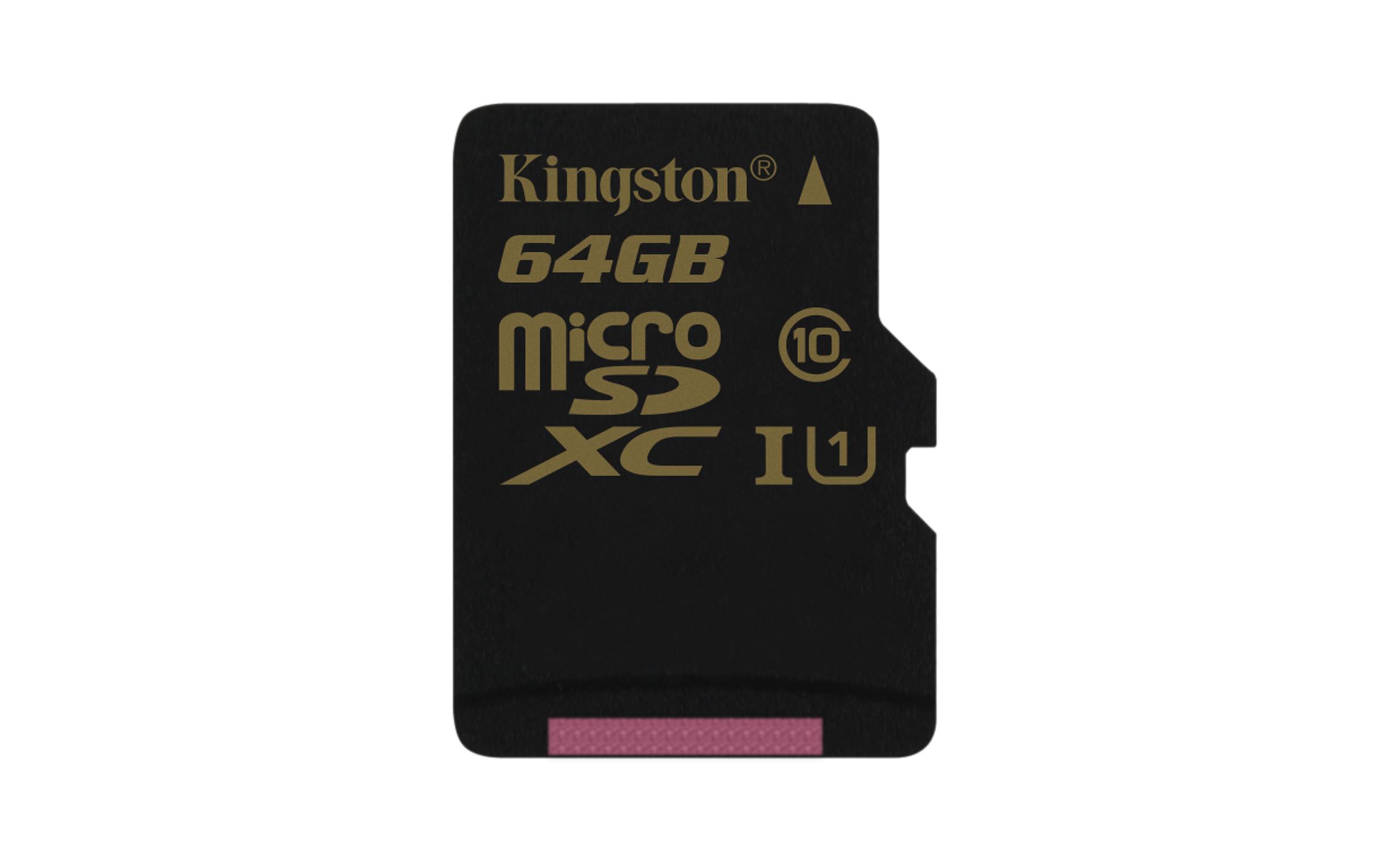 64GB microSDXC UHS-I Kingston class 10 (bez adapt)