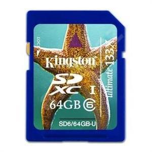 64GB SDXC Class 6 Ultimate Kingston