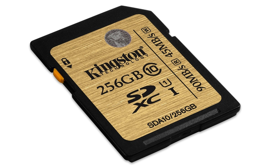 256GB SDXC Ultimate UHS-I Kingston class 10