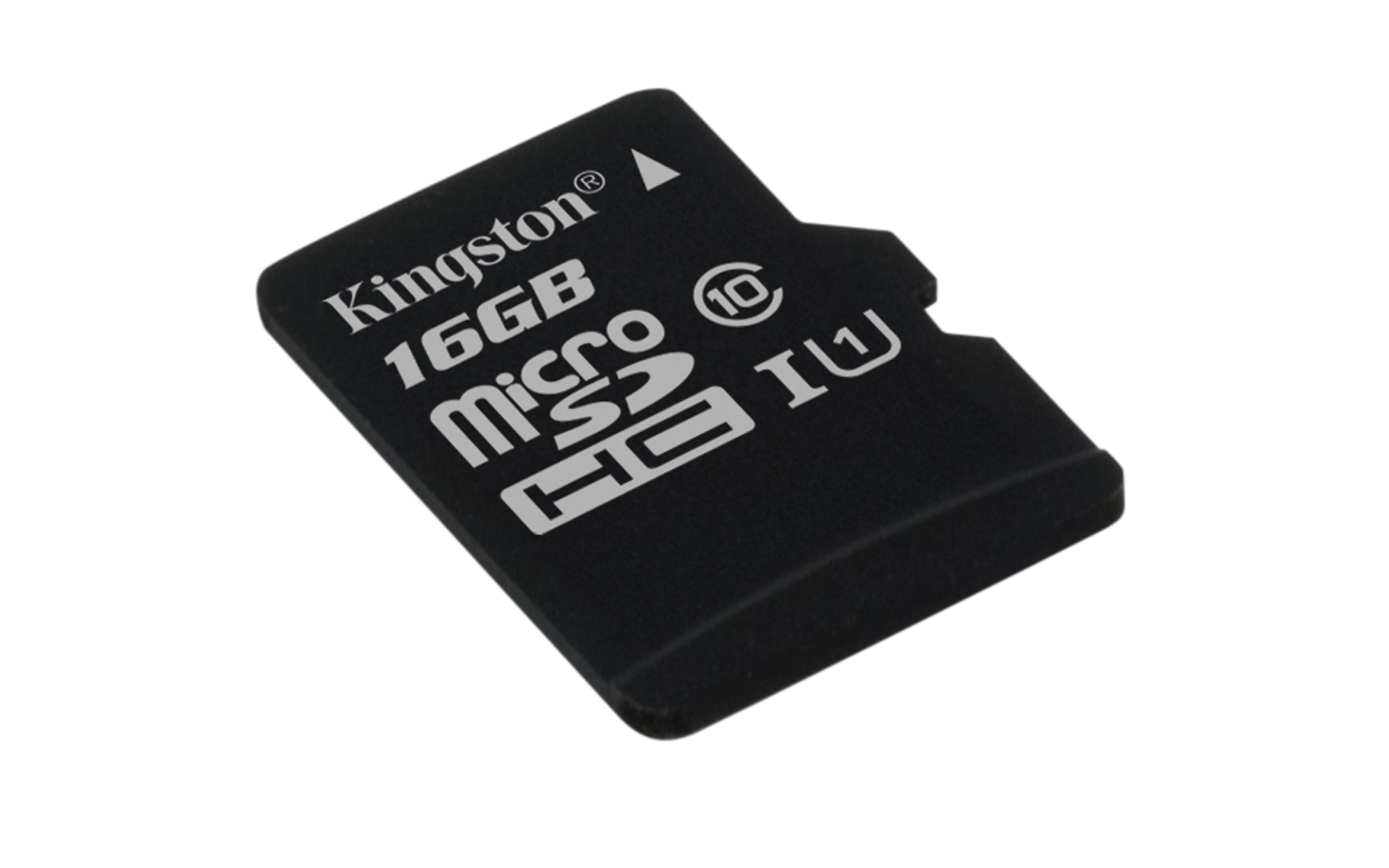 16GB microSDHC Kingston UHS-I U1 45R/10W bez adap.