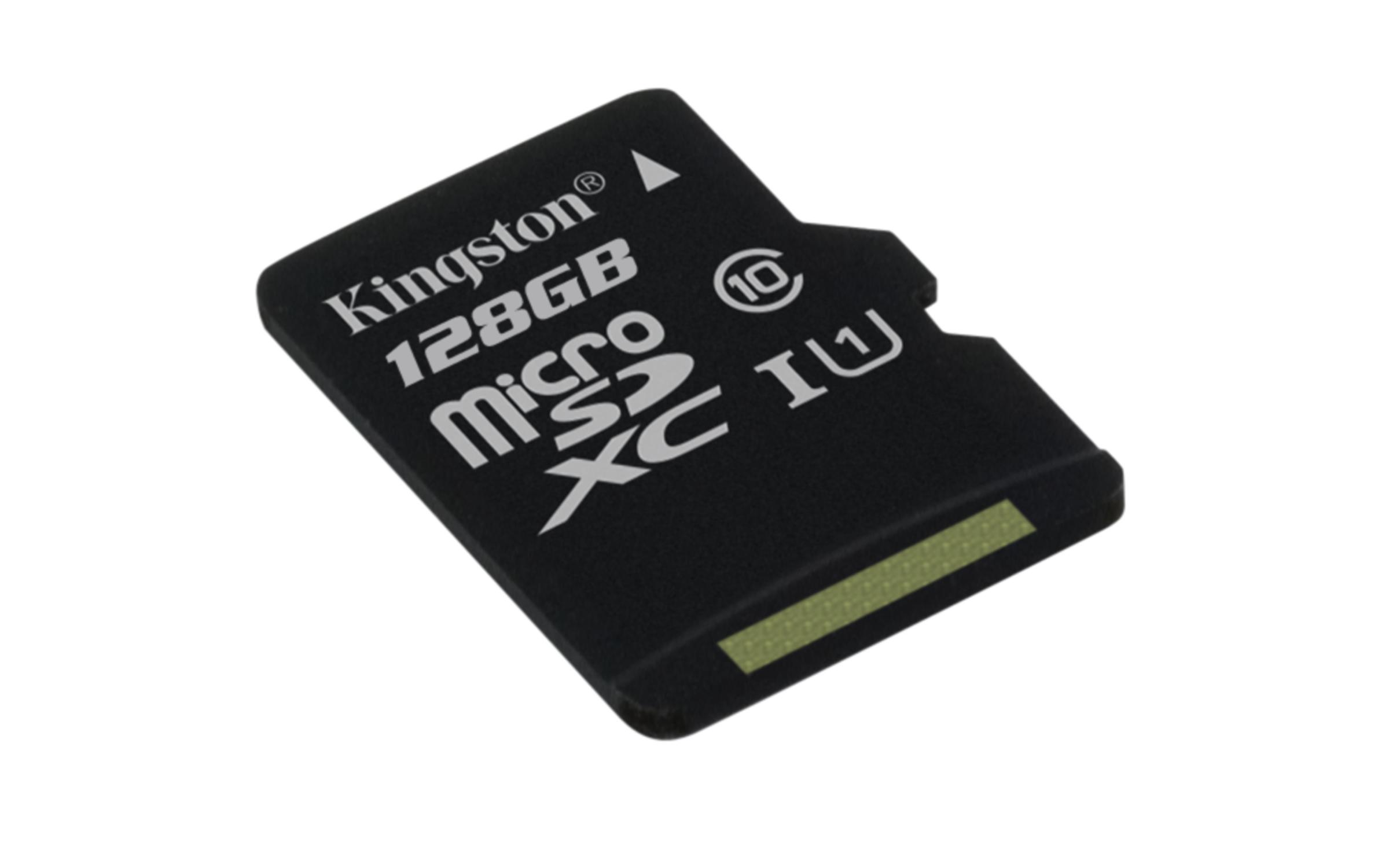128GB microSDXC Kingston UHS-I U1 45R/10W bez adap