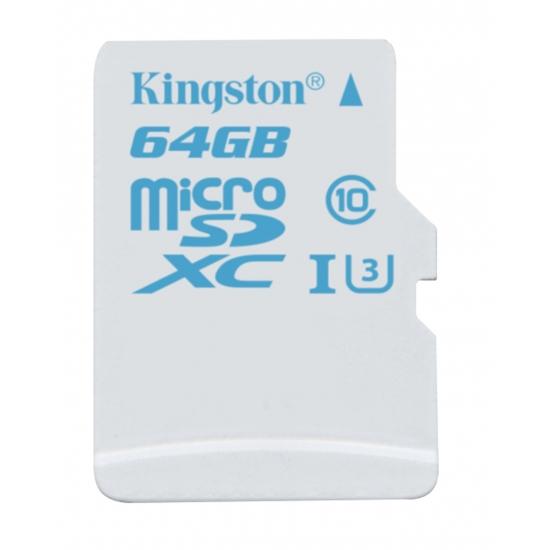 64GB microSDXC Kingston  U3 90R/45W bez adapteru