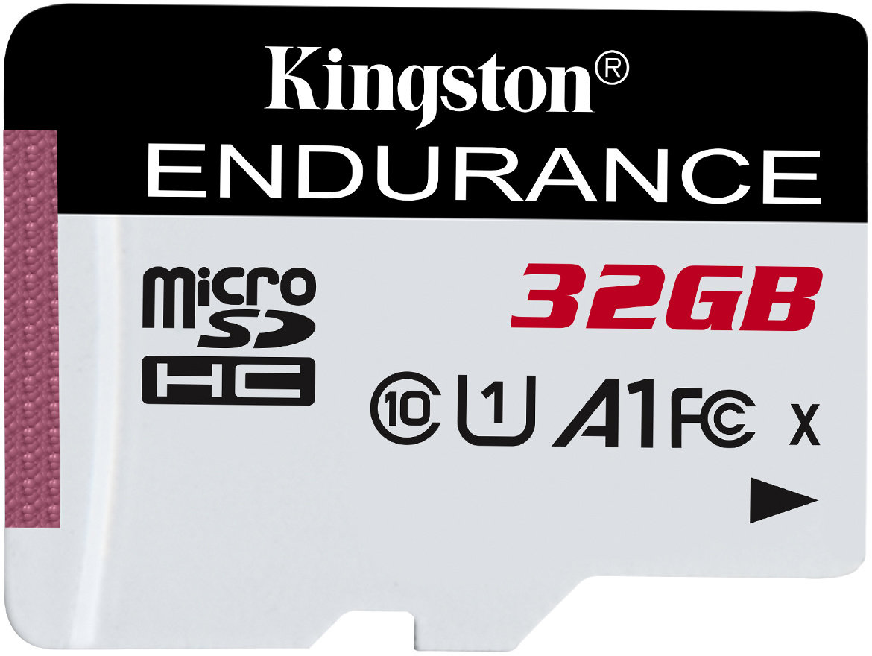 32GB microSDHC Kingston Endurance CL10 A1 95R/45W bez adapteru - SDCE/32GB