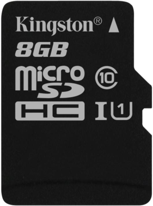 8GB microSDHC Kingston UHS-I Industrial Temp + bez adapteru - SDCIT/8GBSP