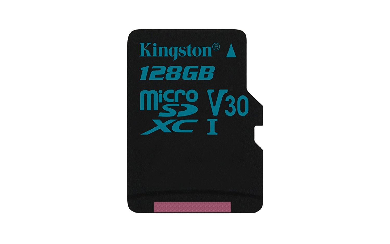 128GB microSDXC Kingston Canvas Go UHS-I U3 V30 90R/45W bez adapteru