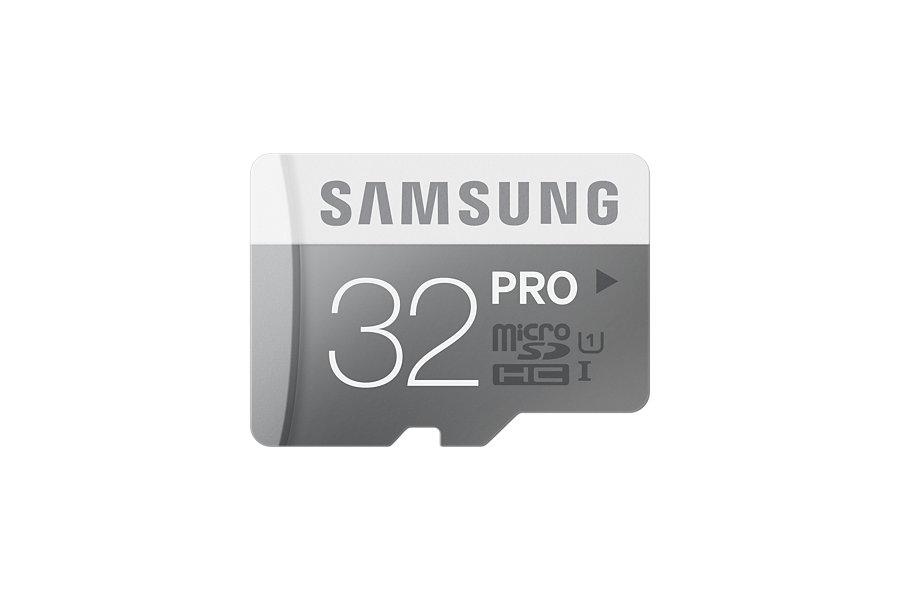 Micro SDHC 32GB Samsung Class 10 PRO