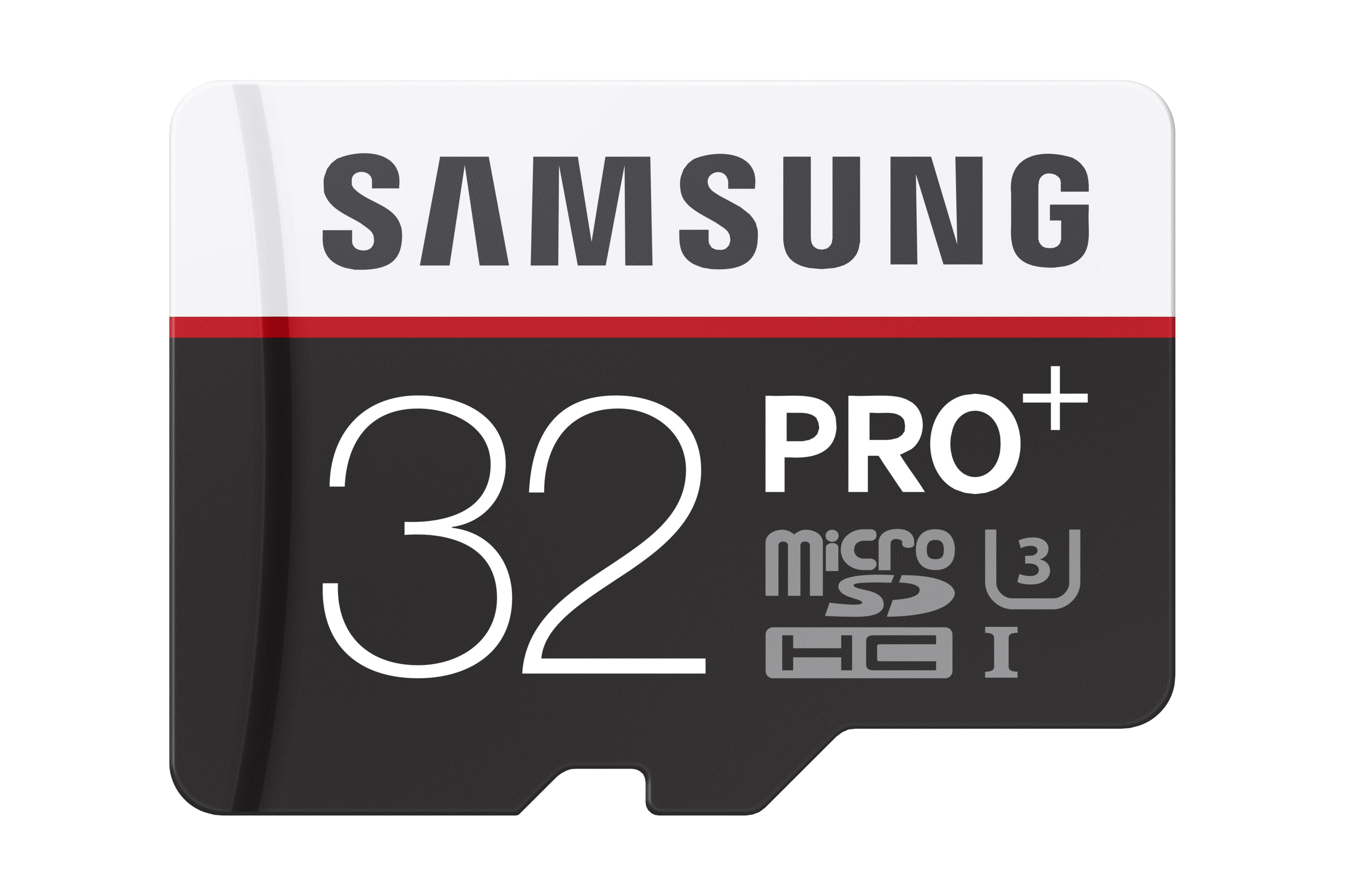 Micro SDHC 32GB Samsung Pro PLUS + adaptér