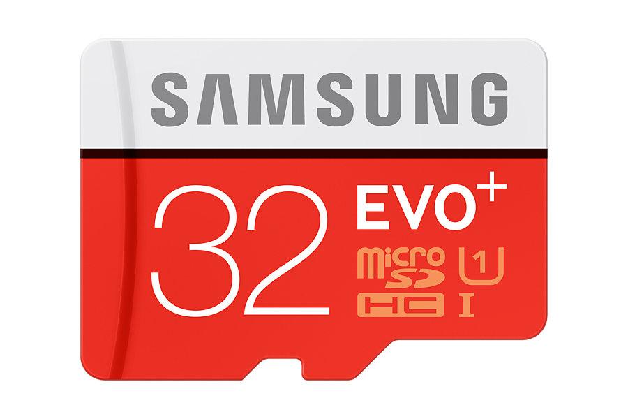 Micro SDHC 32GB Samsung EVO PLUS + adaptér