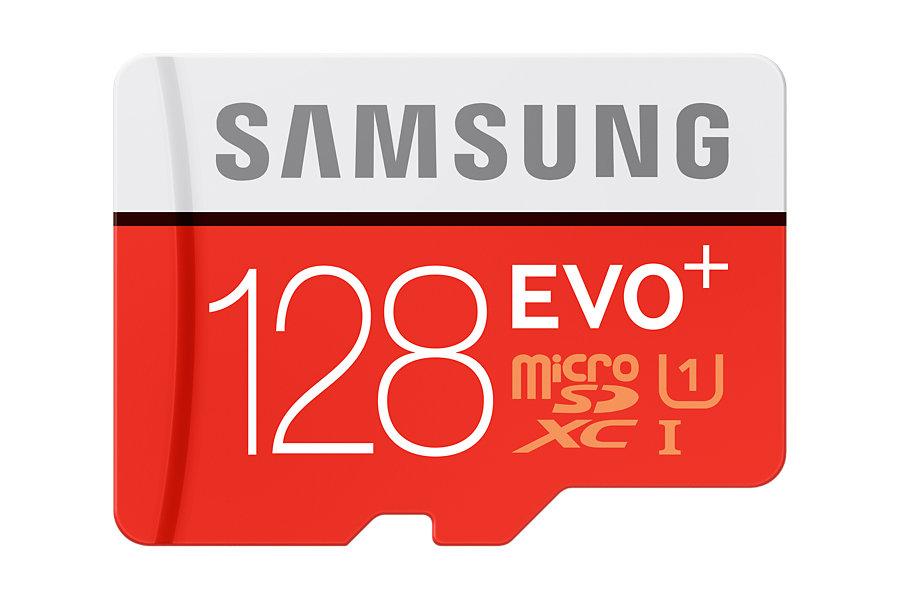 Micro SDXC 128GB Samsung EVO PLUS + adaptér