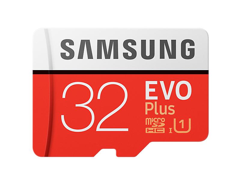 Samsung micro SDHC 32GB EVO Plus + SD adaptér - MB-MC32GA/EU
