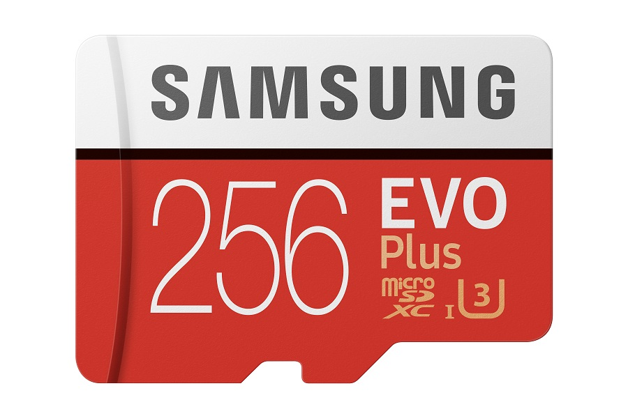 Micro SDXC 256GB Samsung EVO Plus + SD adaptér - MB-MC256HA/EU