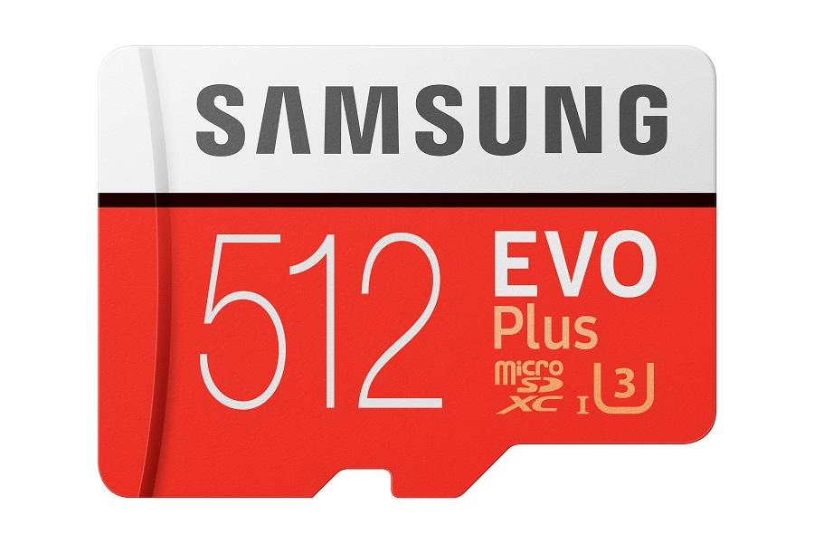 Micro SDXC 512GB Samsung EVO Plus + SD adaptér - MB-MC512HA/EU
