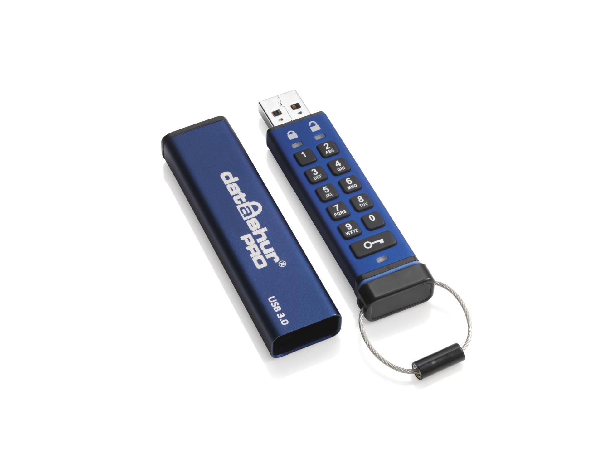 Flashdisk šifrovaný datAshur Pro USB3 256-bit 8GB