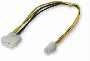 Napájecí kablík 5,25'''-> redukce P4 na PSU (12V)