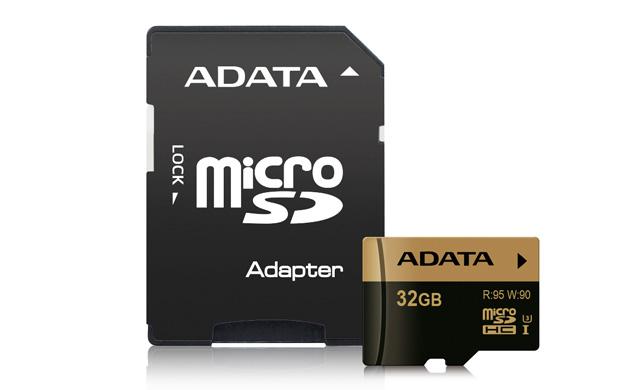 ADATA MicroSDHC 32GB U3 95/90MB/s + adapter