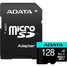 ADATA MicroSDXC 128GB U3 V30S 100/80 MB/s + adapter - AUSDX128GUI3V30SA2-RA1