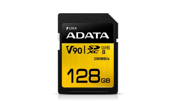 ADATA SDXC 128GB UHS-II U3 (290/260MB)