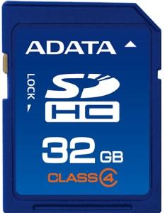ADATA 32GB SDHC Card Class 4