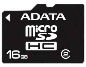 ADATA 16GB MicroSD Card Class 2