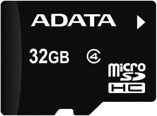 ADATA 32GB MicroSDHC Card bez adapteru Class 4