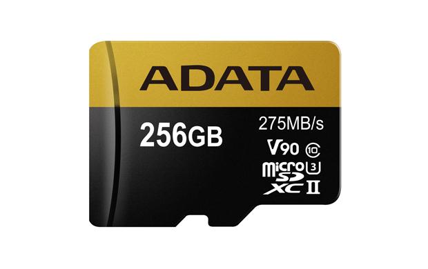 ADATA 256GB MicroSDXC UHS-II U3 s adapterem - AUSDX256GUII3CL10-CA1