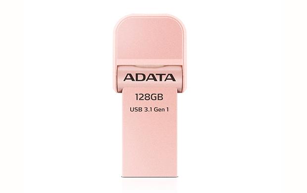 128GB ADATA lightning/USB 3.1 i-Memory růžová