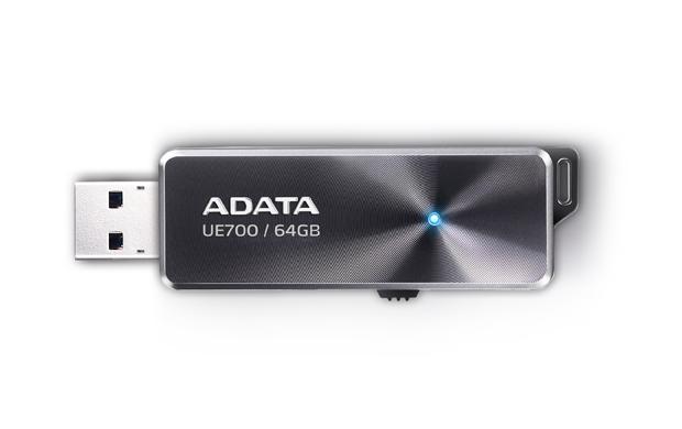 64GB ADATA USB 3.1 UE700 PRO (až 190/50MB/s) - AUE700PRO-64G-CBK