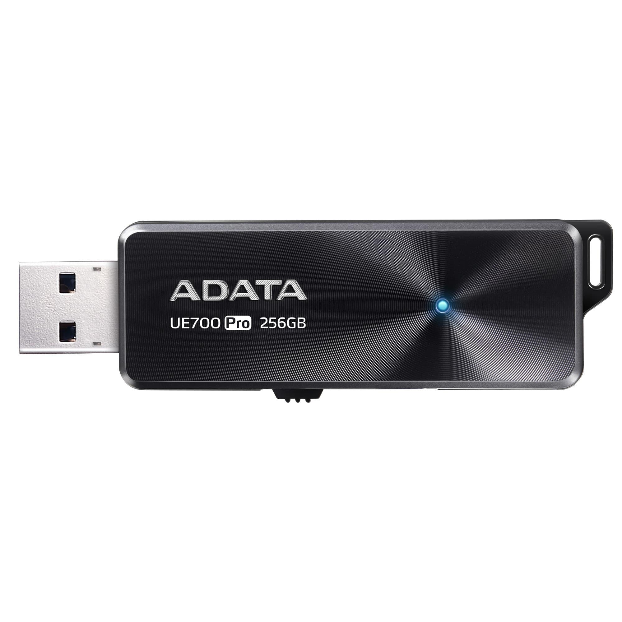 256GB ADATA USB 3.1 UE700 PRO (až 360/180MB/s) - AUE700PRO-256G-CBK