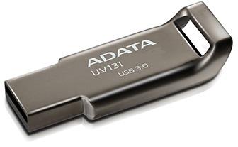 64GB ADATA UV131 USB 3.0 kovová (potisk) - AUV131-64G-RGY