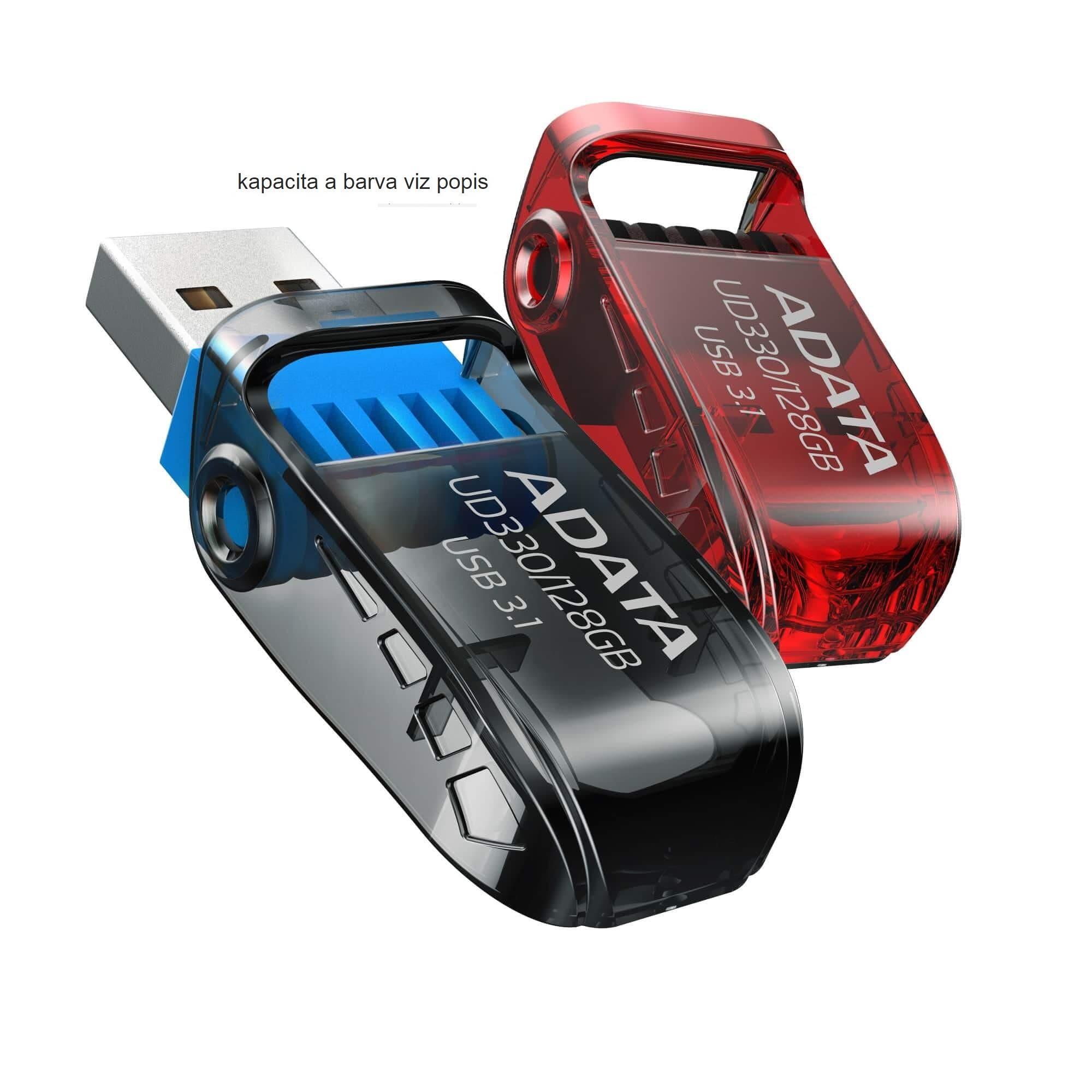 128GB ADATA UD330 USB 3.1 red