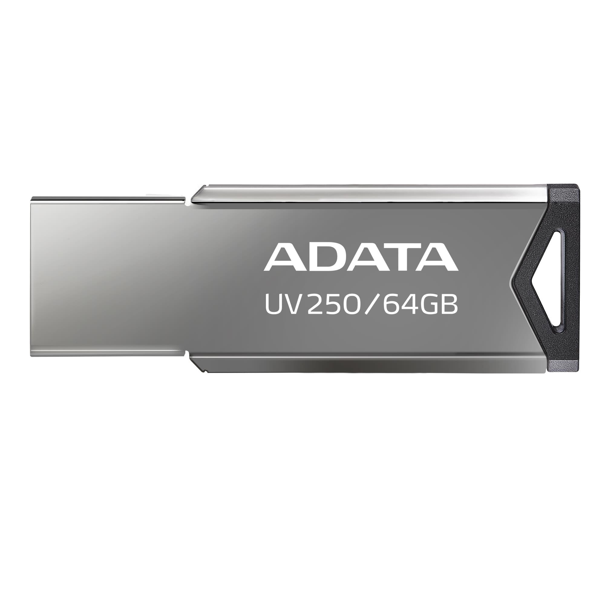 64GB ADATA UV250 USB 2.0 kovová - AUV250-64G-RBK