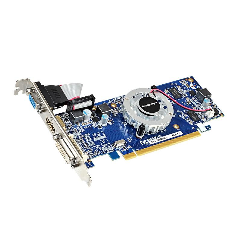 GIGABYTE R5 230 1GB (64) aktiv D H Ds D3