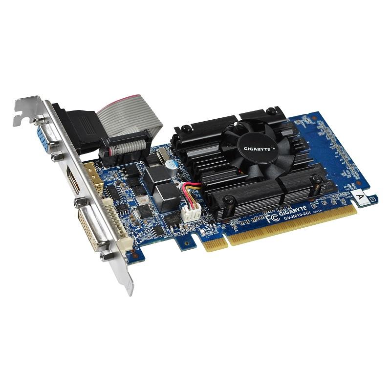 GIGABYTE GT610 2GB (64) aktiv D H Ds D3 LP