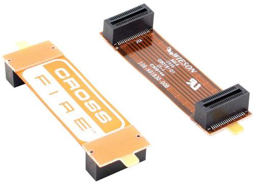 CrossFire můstek (40pin) - 12 cm