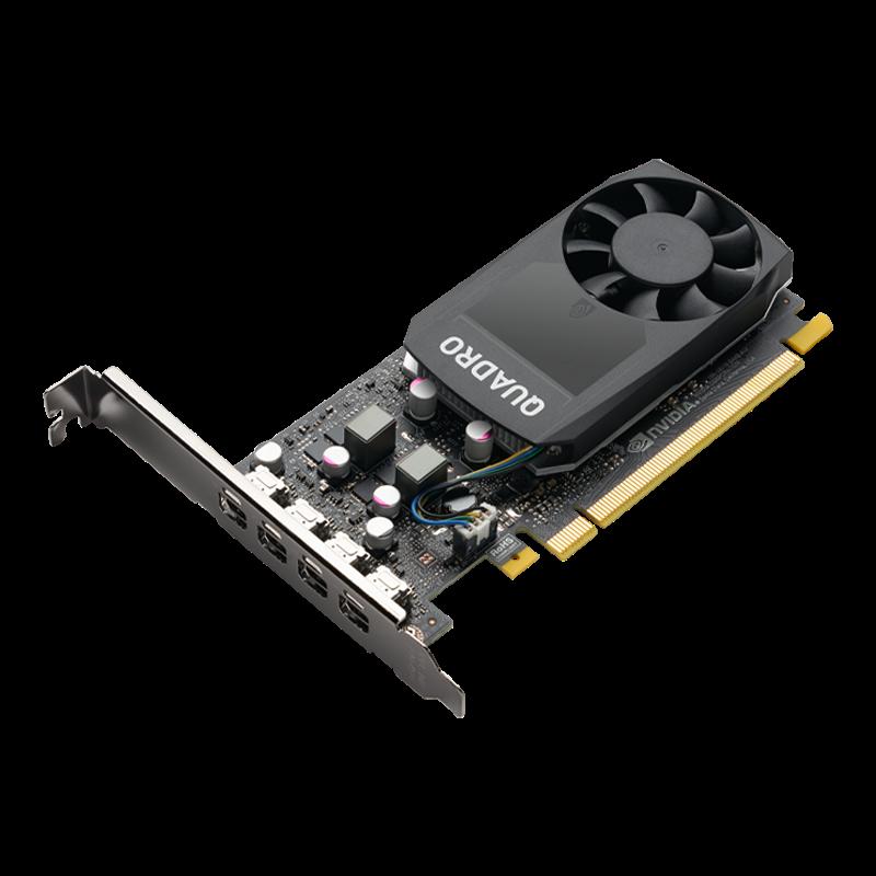 PNY Quadro P1000 V2 4GB (128) 4xmDP - VCQP1000V2-SB